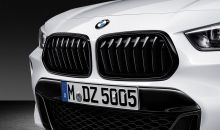 Original BMW X2 F39 Frontziergitter Set Performance schwarz