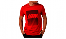 Original BMW M T-Shirt Herren rot - Kollektion 2020/21