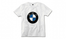 Original BMW Kinder T-Shirt Logo weiß - Kollektion 2020/21