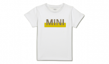 Original MINI Kinder Nub Wordmark T-Shirt Kids weiss - Kollektion 2020