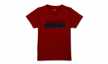 Original MINI Kinder Nub Wordmark T-Shirt Kids chili red rot - Kollektion 2020
