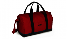 Original MINI Duffle Bag Tasche Weekender Tricolor Block Chili Red / Schwarz / Island - Kollektion 2020