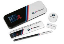 Original BMW M Motorsport Schreibset Kinder - Kollektion 2019/2021
