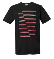 Original MINI JCW Stripes T-Shirt Men's Herren schwarz 2017/19