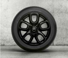 "Original MINI F54 Winterkomplettradsatz Leichtmetall Loop Spoke black 494 Pirelli 16"" m.RSC m.RDC"