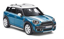 Original MINI Cooper S Countryman F60 1:18 Island Blue blau Kollektion 2019/2021