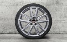 "Original MINI F54 Winterkomplettradsatz JCW Grip Spoke 815 Pirelli 18"" m.RSC m.RDC"