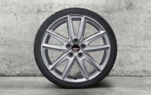 Original MINI Alufelge F54 Clubman Grip Spoke 815 silber 18 Zoll