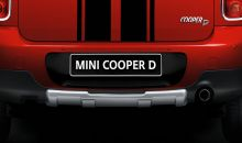 Original MINI Countryman R60 Offroad-Design-Blende hinten