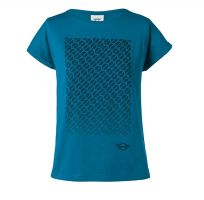Original MINI Signet T-Shirt Women's Damen Island / schwarz / blau MINI Kollektion 2018/2020