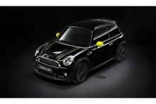--RESTPOSTEN-- Original MINI R56 Dekorstreifen Lemon Yellow gelb