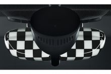 Original MINI Innenspiegelkappe Checkered Flag für MINI F54 F55 F56 F57 F60