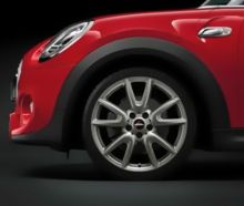 Original MINI Alufelge F55 / F56 / F57 Double-Spoke 534 JCW ferricgrey in 18 Zoll