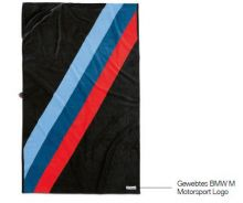 Original BMW M Motorsport Handtuch Kollektion 2019/2021